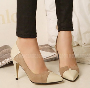 ФОТО Spring autumn pointed toe high-heeled shoes small yards 30 31 32 33 plus size 40 41 42 43 44 free shipping