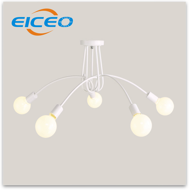 (EICEO) Hotel Cafe LED Chandelier Living Room Bedroom Lighting Atmosphere Creative Triangle Lights Pendant Lamp Lights lamps цена и фото