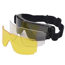 X800 Tactical Goggles Anti-Shock Sunglasses Tactical Eyewear UV400 Glasses For M