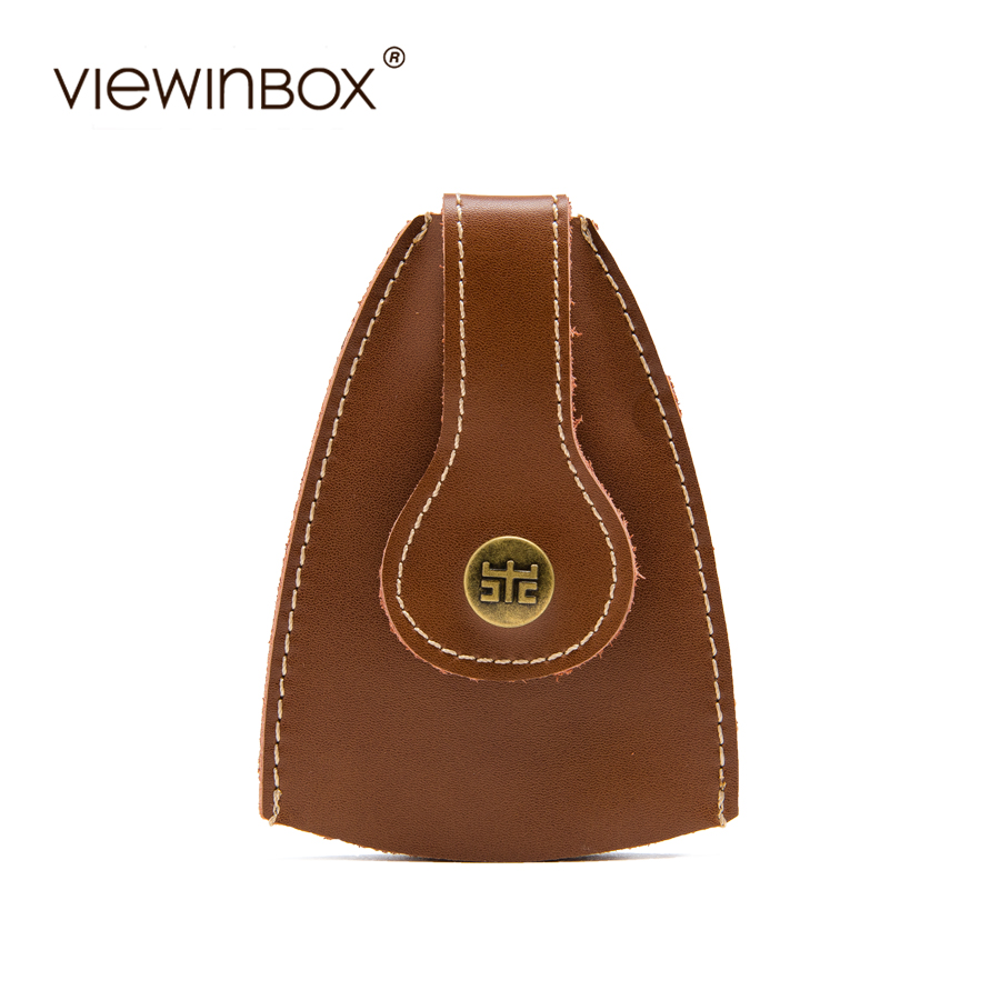 29305cd5f3fa Viewinbox New Design Fashion Key Wallet Unisex Casual Key Case Bag Split  Leather Mini Women Men Key Bag 3 Colors-in Key Wallets from Luggage   Bags