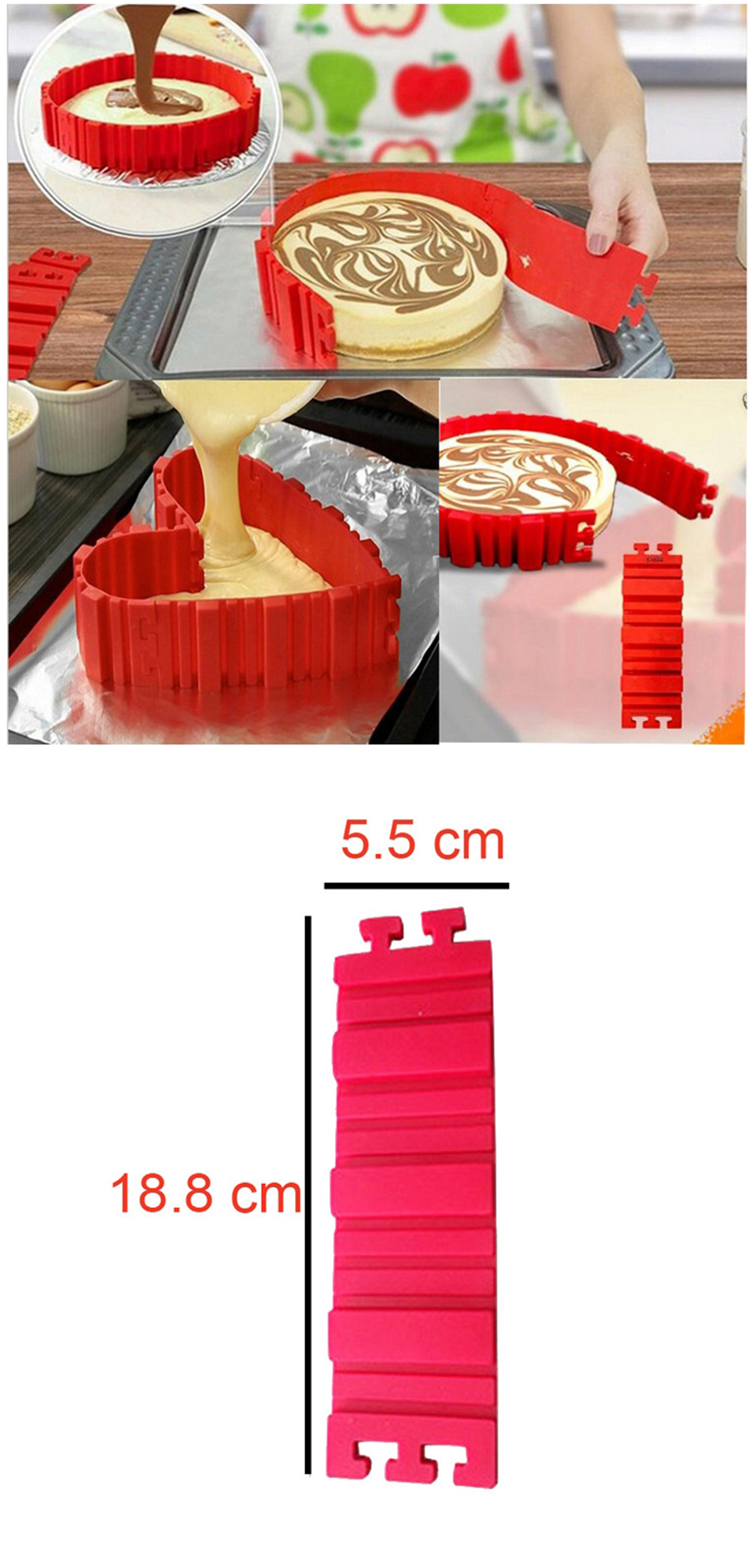 Flexible Cake Mould