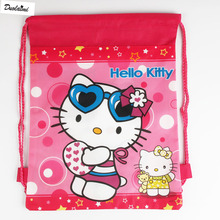 1 Pic children schoolbags Princess Drawstring Bags Cartoon For Girls & Boys multipurpose school backpack Christmas gifts 023