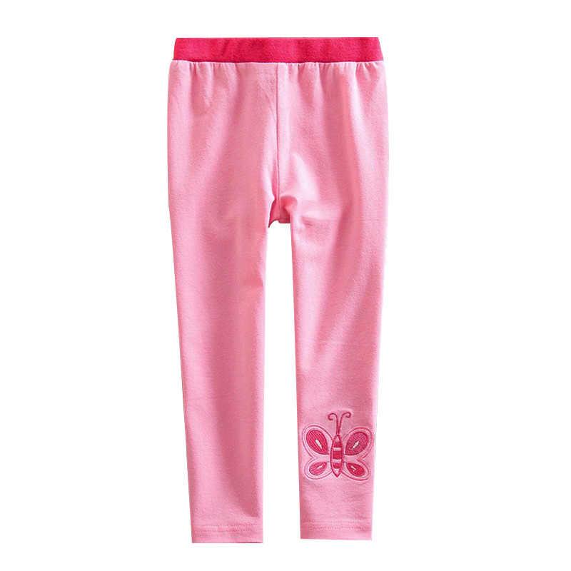 VIKITA Girls Stripe Leggings Cotton Flower Long Spring Summer Pants for 2-8 Years ?
