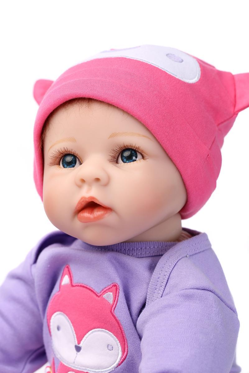 55 cm haute qualité silicone reborn bébé poupée jouets réaliste réel nouveau-né fille bébés bambin jouet cadeaux d'anniversaire présent pour enfant