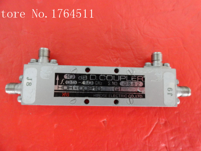 [BELLA] The Supply Of HRS 0.5-1.0GHz Coup:10dB SMA HDH-00810GI Directional Coupler