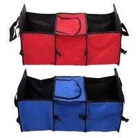 Car Trunk Storage Bag Oxford Cloth Folding Truck Storage Box Car Tidy Bag Organizer Storage Box