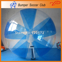 Manufacturer customize! inflatable clear plastic water ball human sphere water ball walking transparent walking on water ball