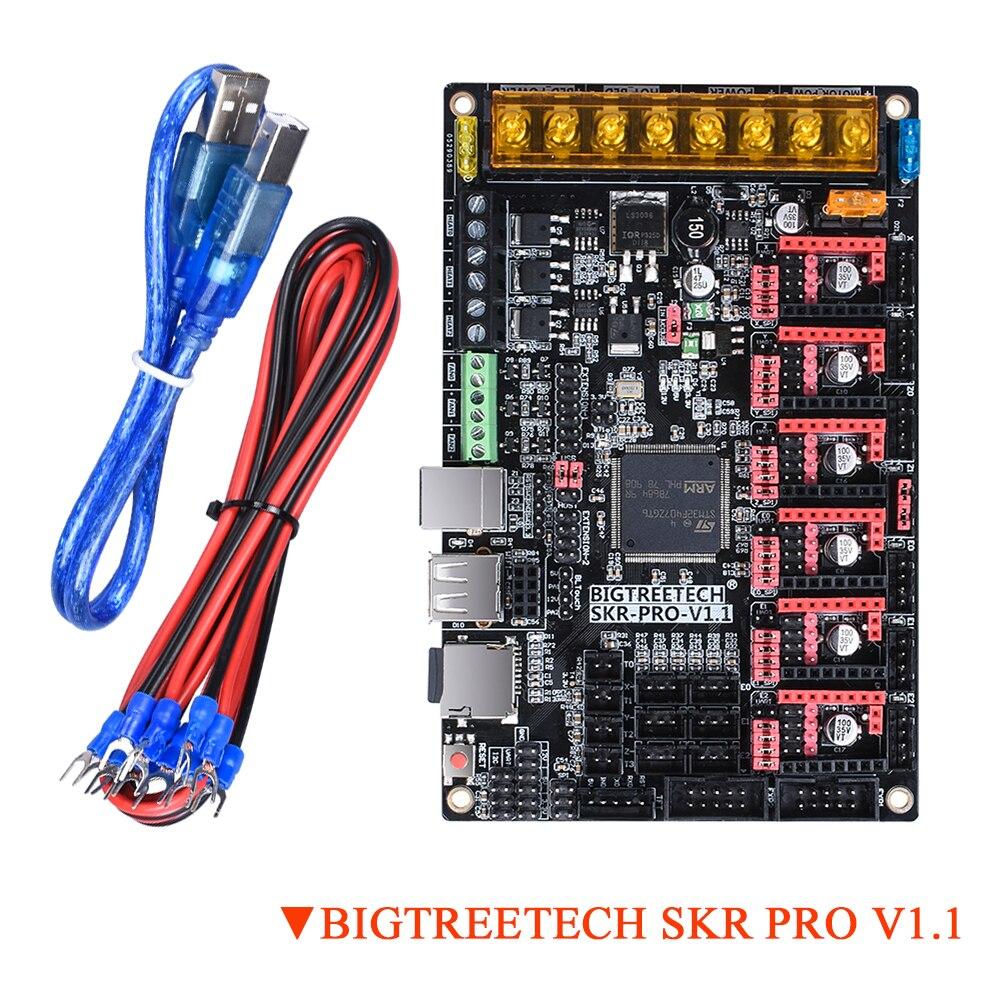 bigtreetech skr pro placa de controle para tmc2208 v1 1 tmc2130 uart spi upgrade 32 bit
