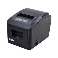 Xprinter chegou novo 80mm cortador automático usb/lan porto recibo impressora pos para leite loja de chá  shopping  loja de roupas Impressoras    -