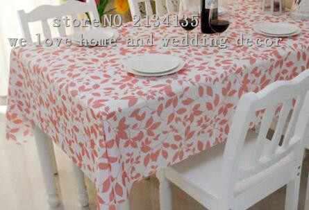 Waterproof Plastic Cloth Cloth Garden Table Cloth PVC Tablecloth Oil Proof  Mat Disposable Soft Glass Table