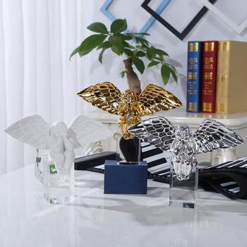 Creative Home Furnishing Gift Desktop Ornament Resin Fairy Figurines Angel Decoration Home