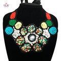 2017 Nova moda Africano Colar cor da moda mulher dom colar colar Moda Feminina Gargantilha colar Jóias WYA101