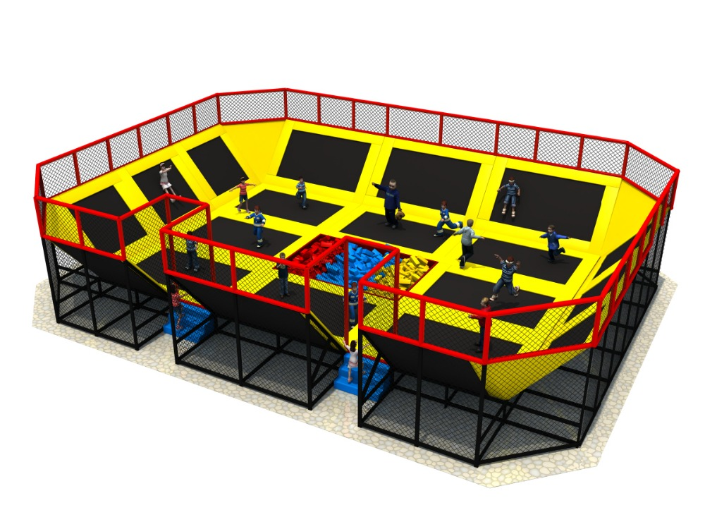 achetez en gros int rieur trampoline parc en ligne des. Black Bedroom Furniture Sets. Home Design Ideas