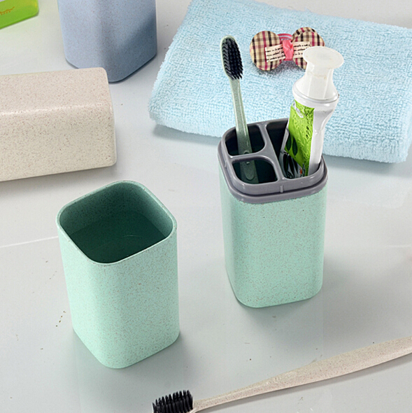 Newest Travel Toothbrush Box Tube Portable Toothbrush Toothpaste Box With Cover