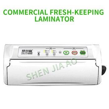 220 V Vakum paketleme makinesi Kuru Ve Islak Küçük Gıda Vakum Sızdırmazlık Çay Laminasyon Makinesi Ticari Ev Yapıştırma Makinesi