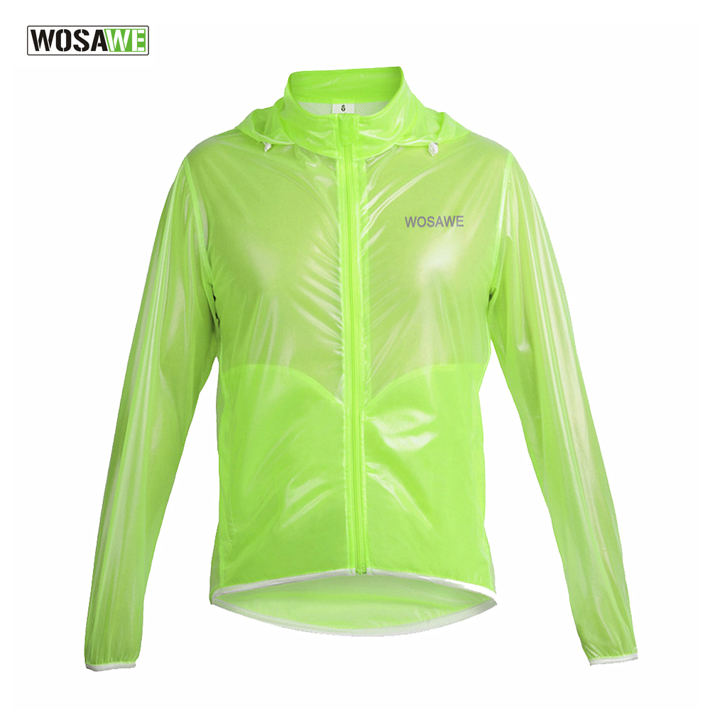 WOSAWE Cycling Rain Coat ...