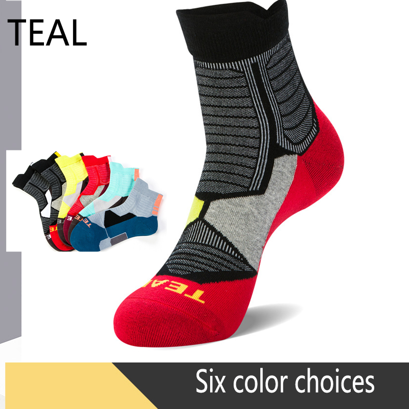 2019 New Best Cycling Professional Sport Socks Men Outdoor Road Bicycle Basketball Breathable Cotton Winter Ski Warm Stockings