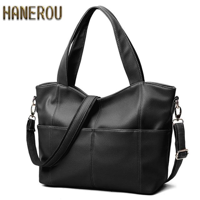 Women Bag Luxury Brand Fashion PU Leather Shoulder Bag Ladies Handbag New 2017 Luxury Handbags Women Tote Bags Designer Sac