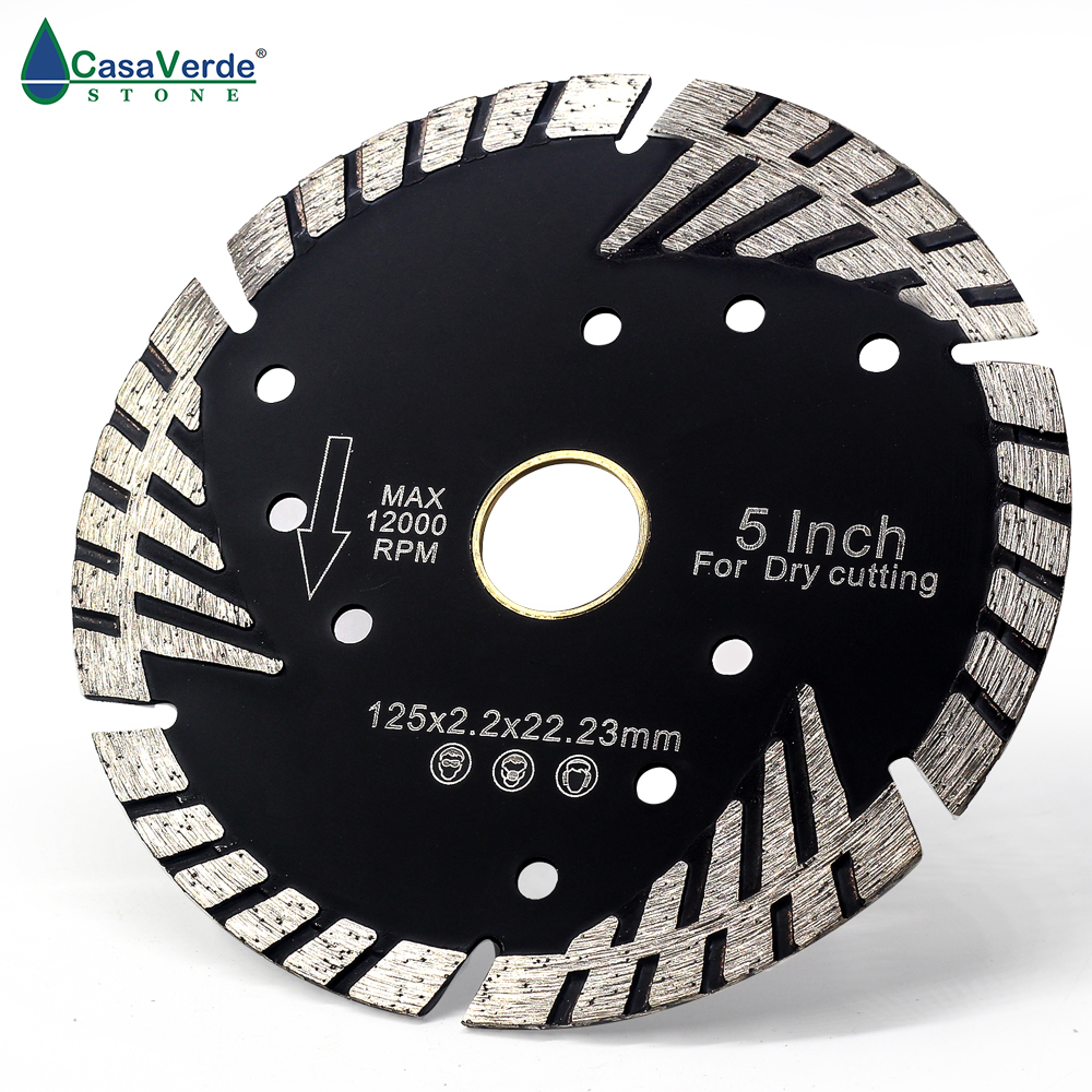 DC-CSBTB05 Diamond 5 Inch 125mm Diamond Dry Cutting Blade For Stone.