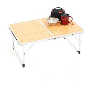 Image 2 - VILEAD Portable Folding Picnic Table Aluminum Ultralight Waterproof Foldable Hiking Camping Self Driving Travel 61*42*27 cm