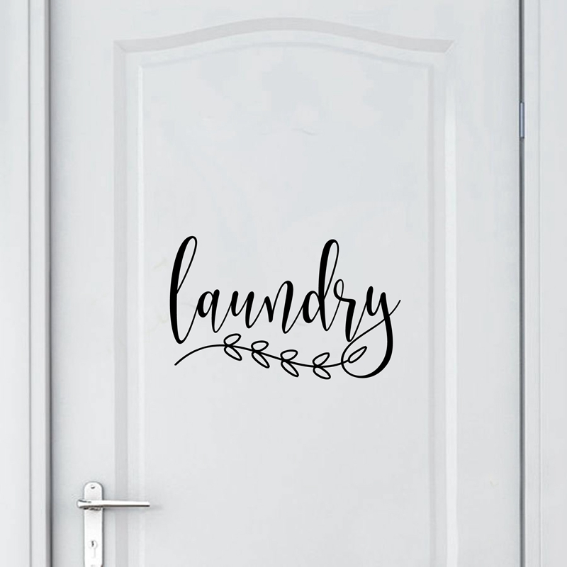 Toilet Laundry Bathroom Sign Door Wall Plaque Butterfly Blue Beautiful Cottage