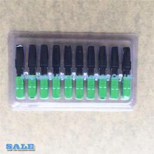 10個光ファイバの高速コネクタsc/apc被覆線コネクタ放送catv/ftth、送料無料