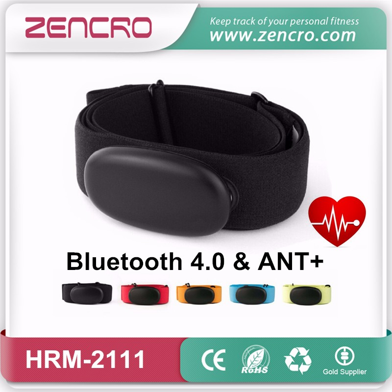 Bluetooth 4.0 & ANT+ heart rate monitor strap