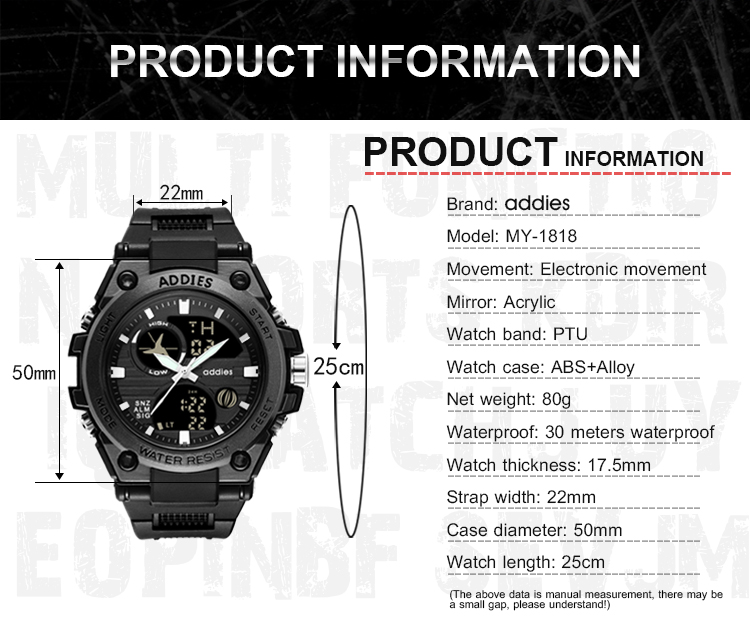 New Army men sport watch (5)