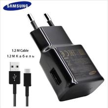 100% Original Samsung Galaxy S8 S8 +S8 PLUS NOTE 8 Adaptive Fast Charger Type C Cable EU PLUG black white