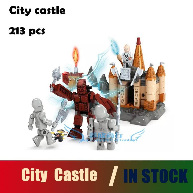 Compatible with lego city Model building kits castle 213pcs 3D blocks Educational model & building toys hobbies for children