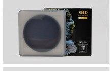 Benro 49/52/55/58/62/67/72/77/82 мм SHD ND16 ND32 ND64 ND128 ND256 ND500 ND1000 круглый ND фильтр