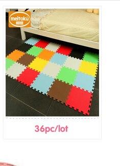 d834cdb85f7 ( ^ ^)っMeitoku Soft EVA Foam puzzle juego  azulejo enclavamiento piso pad  gatear