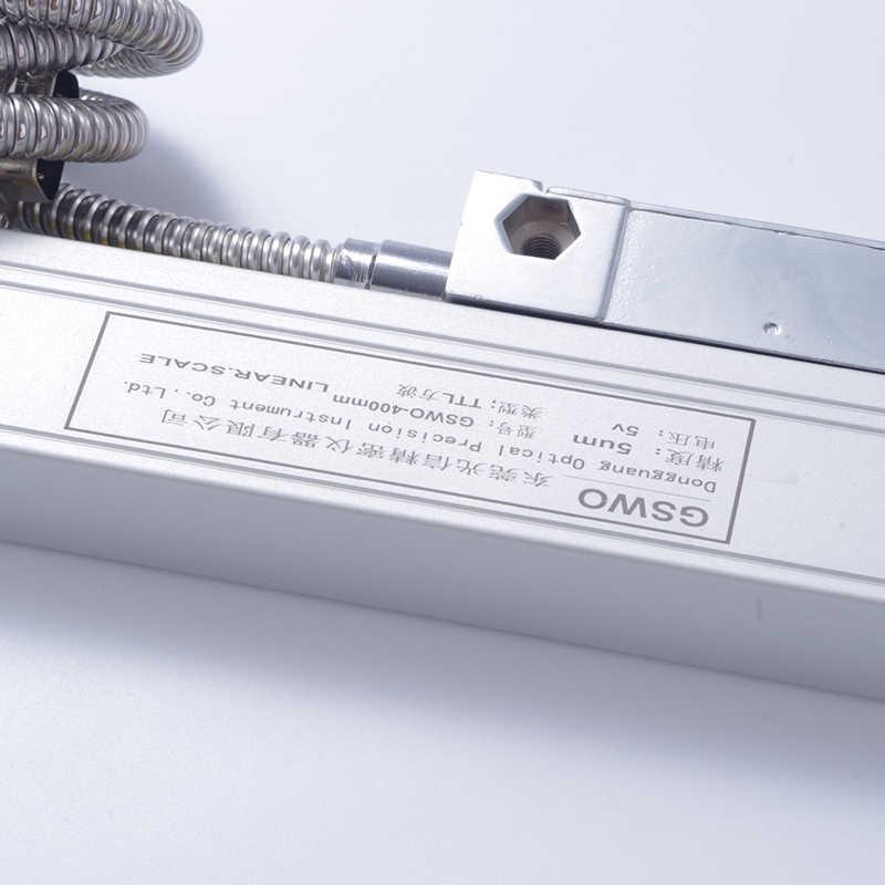 Alta Precisão linear encode 2 3 DRO leitura digital Eixo 0 ~ 3 pcs 0 ~ 1000mm digital linear escala DRO torno de Moagem moedor máquina