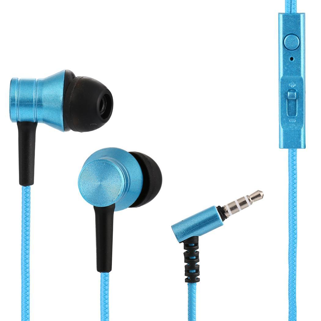 3.5mm Wired With Microphone In- Ear 1013dB Earphones No Support Earbuds Dynamic 1615% 20-20KHz