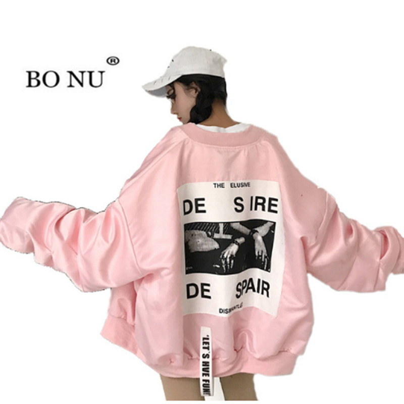 13611fcc9beb3 top 9 most popular bomber coat pink brands and get free shipping ...