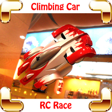 Cool Gift 1/24 RC Wall Climbing Car Remote Control Wall Sticker Toy Electric Climber Vehicle Stunt Zero Gravity Children Favour