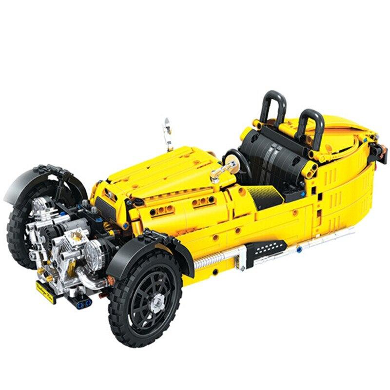 Winner Technic Collector Top Convertible Car Building Blocks Sets Bricks Model Kids Toys Gift Compatible 7065