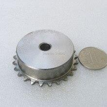 """04C 25 T 25 шаг зубьев 6,35 мм 1/"""" диаметр не больше 10,3 мм промышленная передача вождения одной звездочки Механическая часть"""