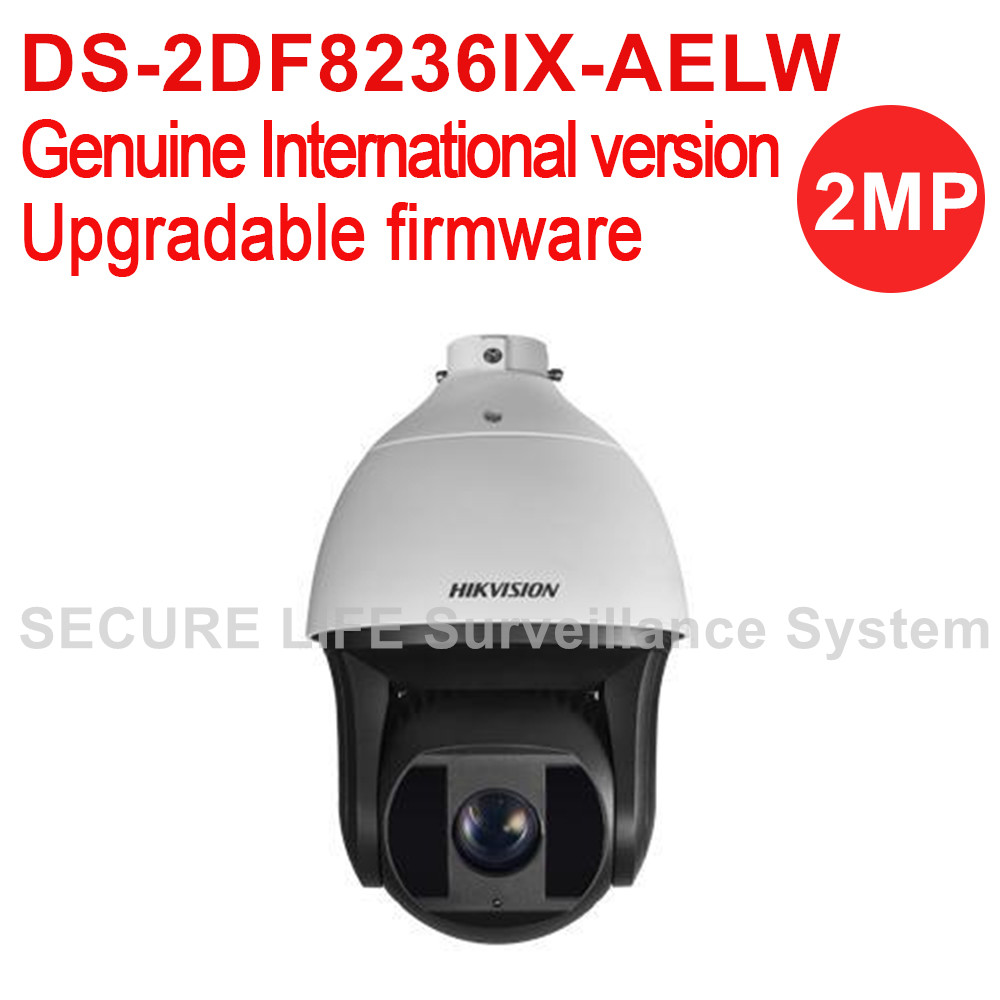 DS-2DF8236IX-AELW International version 2MP Ultra-low Light Smart PTZ Camera 36X optical zoom , Dark fighter with wiper 2017 new ds 2df8836iv aelw english version 4k smart ir ptz camera poe camera with wiper