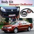 Бампер для губ дефлектор губ Для Suzuki Verona передний спойлер юбка для TopGear Friends Тюнинг автомобиля вид/комплект кузова/полоса