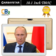 CARBAYSTAR 10.1 pulgadas T805C Octa Core 1.3 GHz Ram 4 GB Rom 64 GB Tablet Android Phone Call Tablet Pc tablette WiFi/GPS
