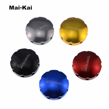 MAIKAI parts Gas Fuel Tank Filler Cap For VESPA GTS GTV LX primavera sprint Motorcycle pazoma motorbike steel green orange gas tank motorcycle fuel tank for simson s50 s51 s70