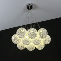 Modern Minimalist Chandelier Fashion Creative Dining Lights Lamps Personalized Art Dining Room Bar Table Lamp Led