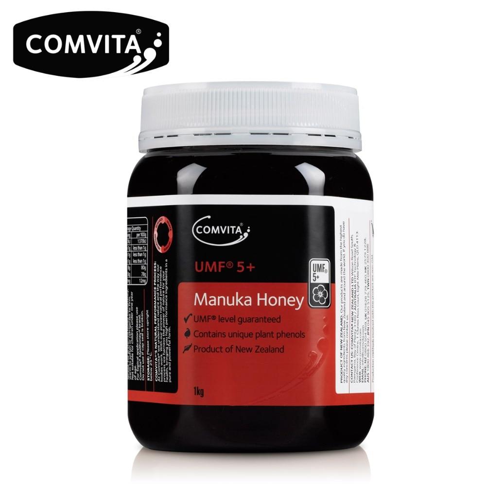 Original NewZealand Comvita Manuka Honey UMF5 1KG for Digestive Immune Health Respiratory System Cough Sooth Coughs