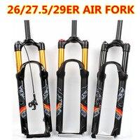 bicycle air fork 26 27.5 29 ER MTB mountain suspension fork air resilience oil damping line lock for over SR SUNTOUR EPIXON