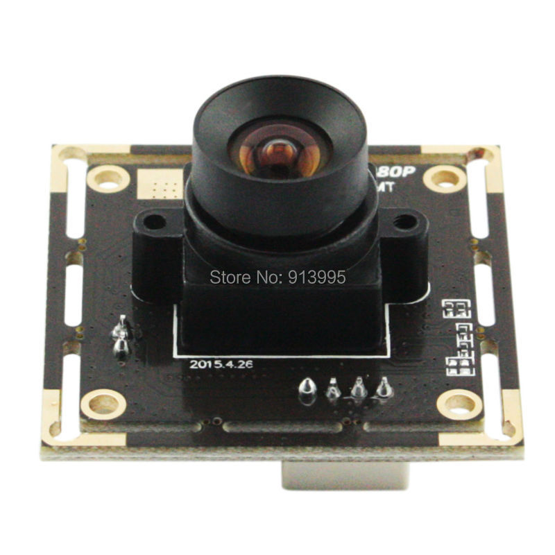 100 Degree No distortion Lens High speed 30fps /60fps/120fps  Webcam HD 1080P Android Linux Windows Mini UVC USB Camera Module от Aliexpress INT