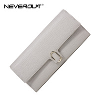 NeverOut Women Wallets Long Split Leather Purses For Girls Purse Business Fashion Card Holder Female Wallet
