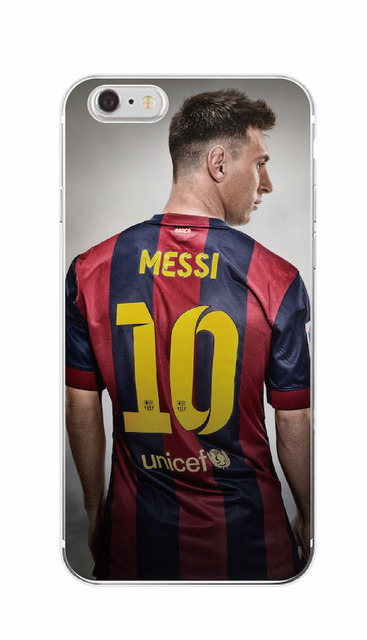 Barcelona Club Neymar Da Silva Lionel Messi Number 10 11 Soft Phone Case Coque For  iPhone 4 5 6 7 S SE Plus SE 5C SAMSUNG