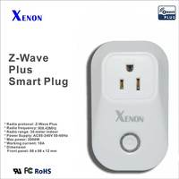 Xenon socket Z-Wave EU Power plug Smart Outlet Z-Wave Smart Home System Compatible with all z-wave protocol socket  SM-A701B