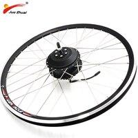Free Shipping Electric Bike Motor Wheel Brushless Gear Hub Motor 1.75 2.125 20 26 24 700C 28 Front Rear Electric Motor